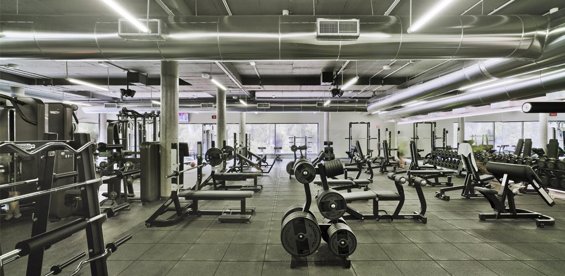 Sala fitness GO fit Campo Grande