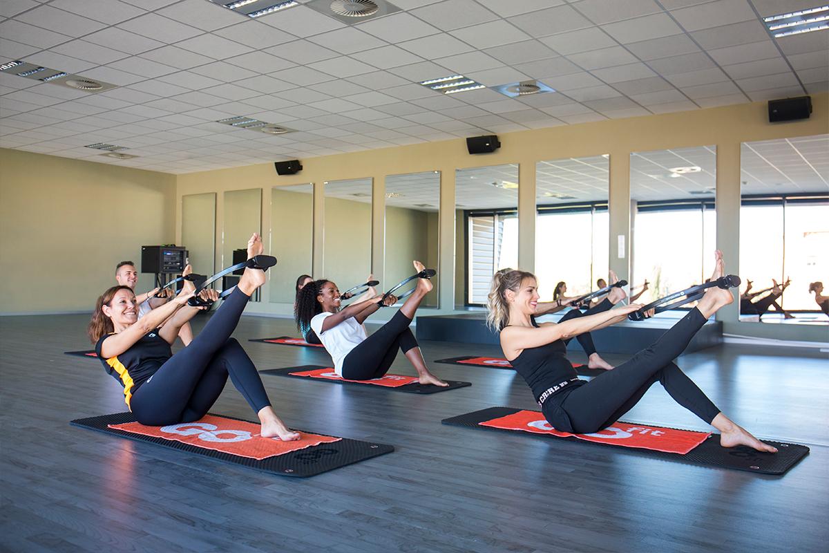 Chicas entrenando