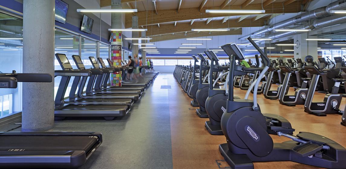 Sala fitness GO fit Valladolid