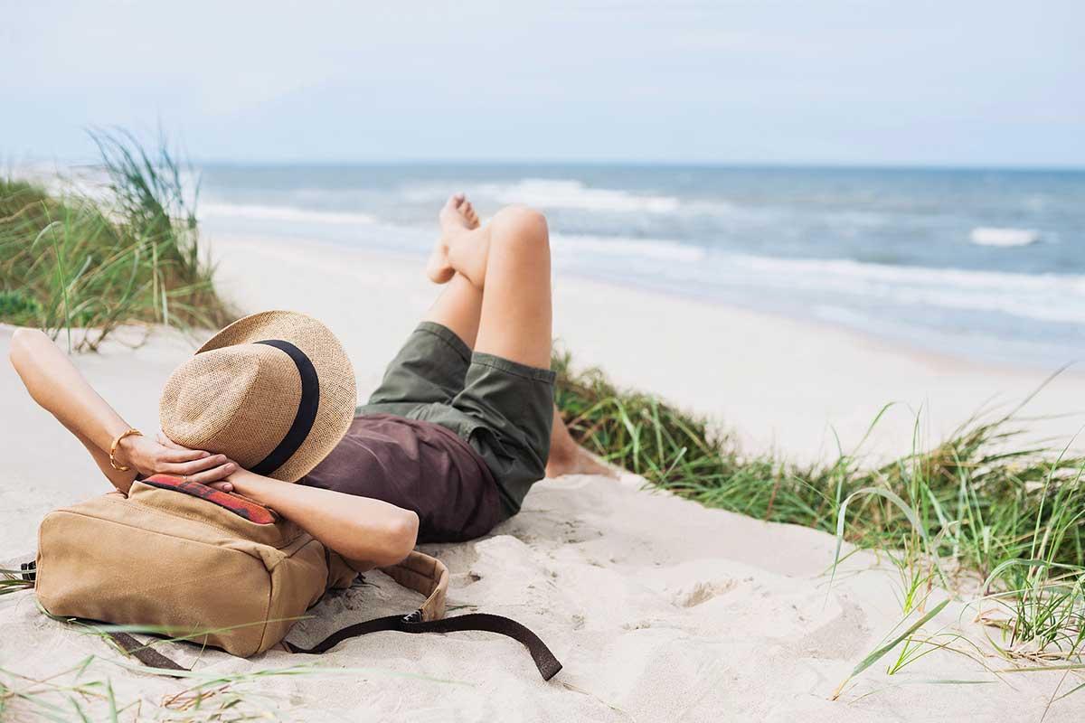 Descanso en la playa este verano