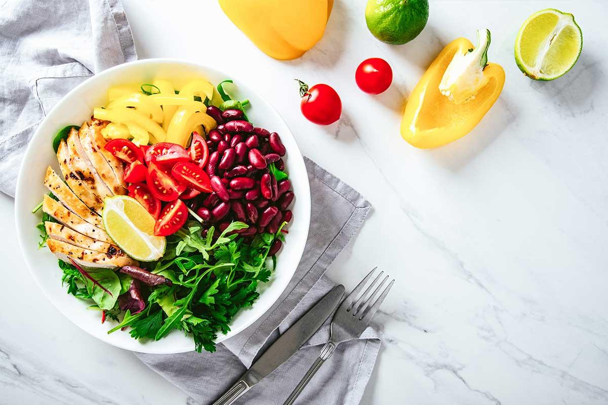 Aliméntate de proteínas