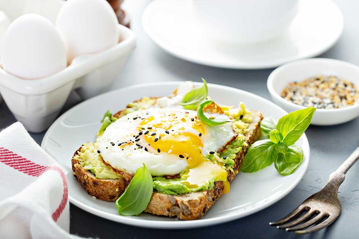 Desayuno para entrenar