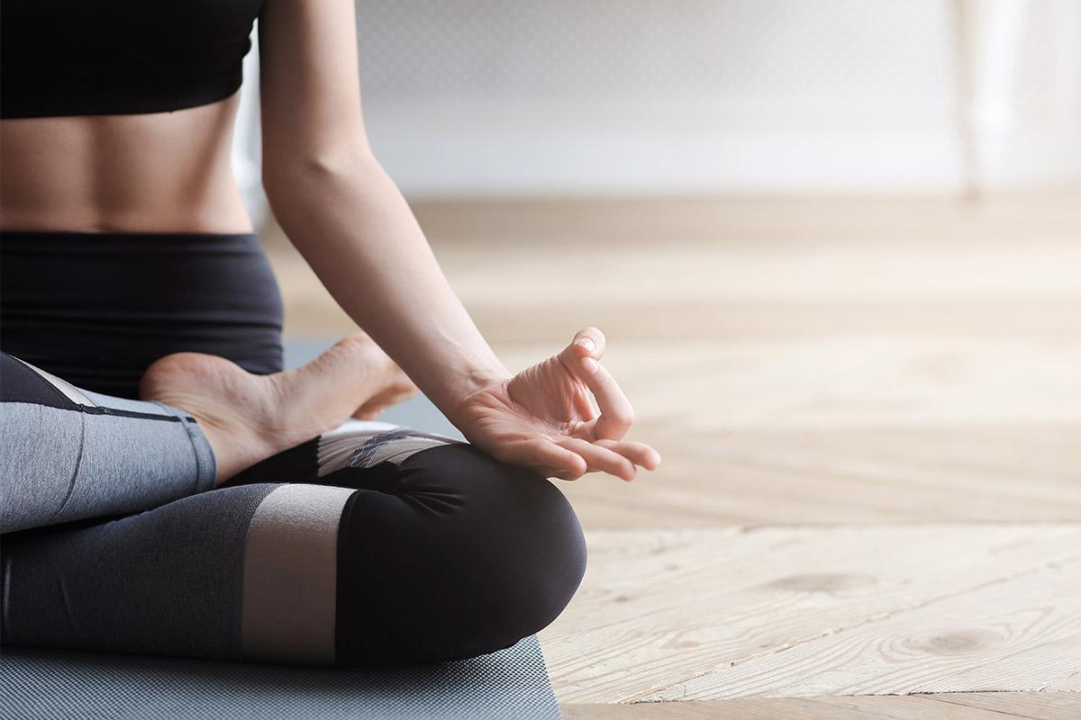 Crear hábitos, como meditar todos los días.