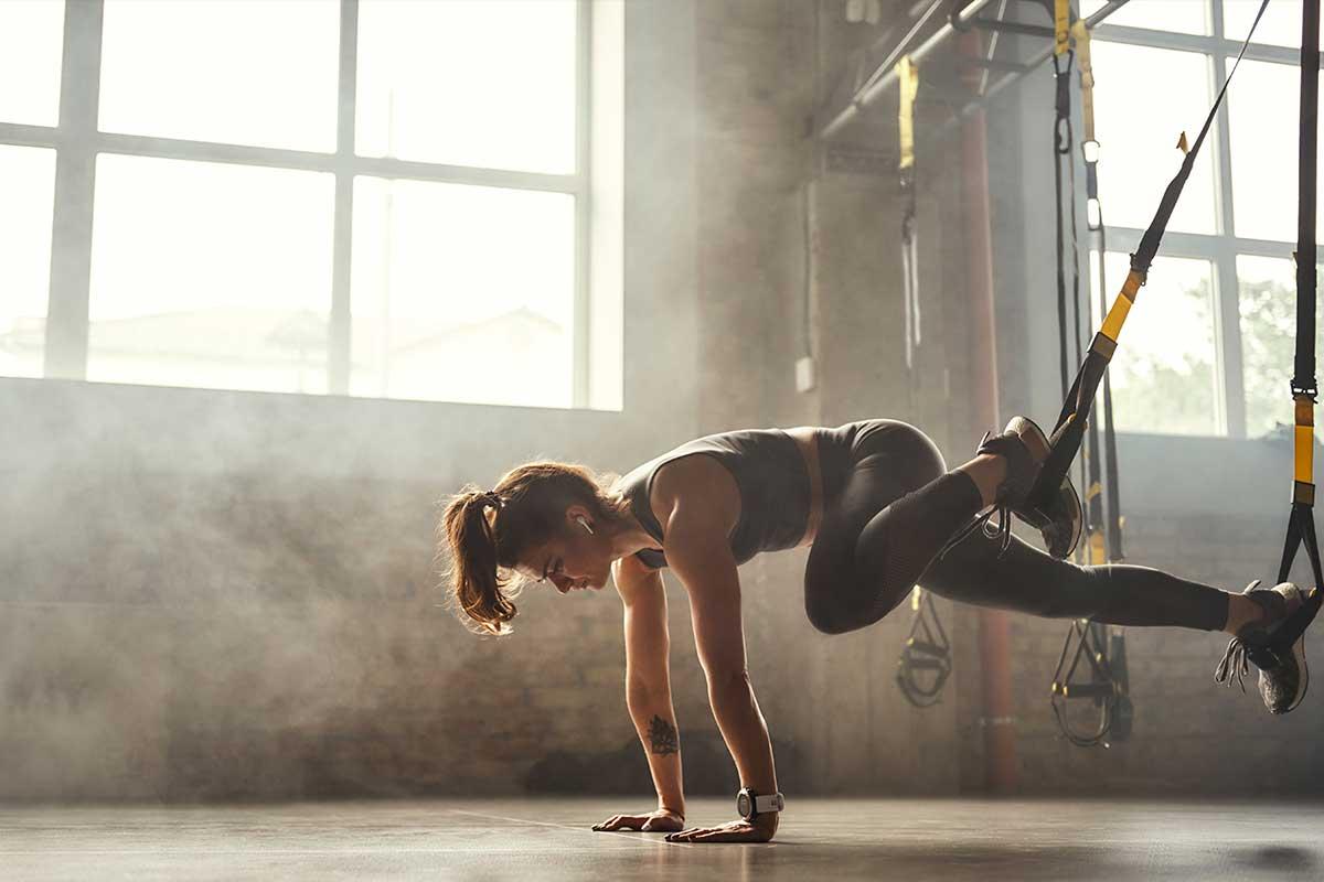 Entrena tus grupos musculares