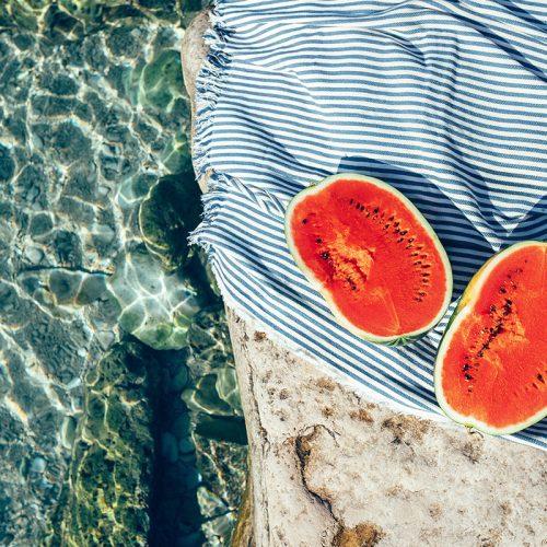 Snacks saludables para la playa