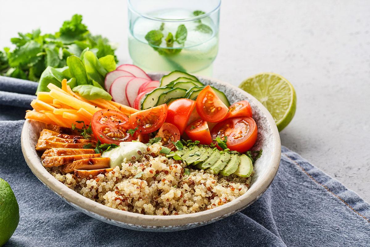 quinoa: alimento rico en proteínas