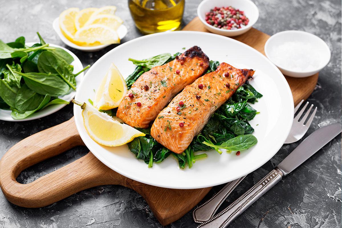 salmón: alimento rico en proteínas