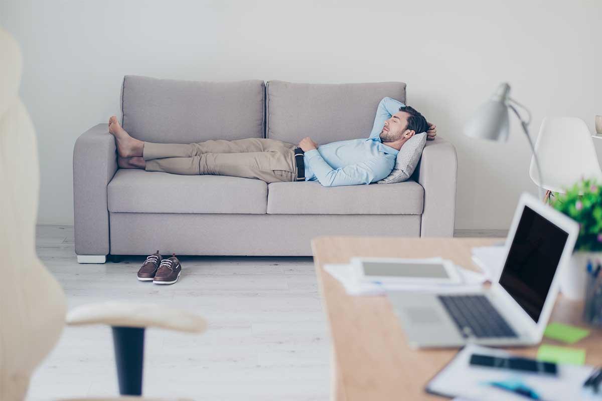 Renueva energía con siesta